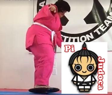 Pi judoca, equilibrista