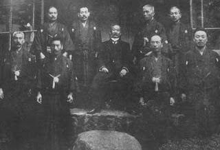 Jigoro Kano e seus alunos