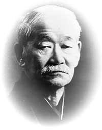 Rosto de Jigoro Kano