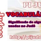 VOCABULÁRIO DO JUDÔ