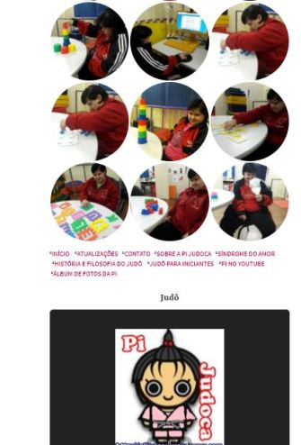 Álbum de fotos da Pi, galeria de imagens Pi judoca