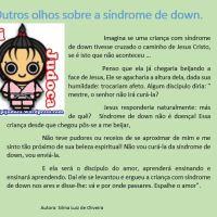 Outros olhos sobre a síndrome de down